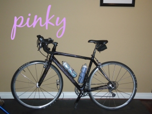 Pinky - My road bike